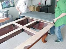 Pool table moves in Quincy Illinois